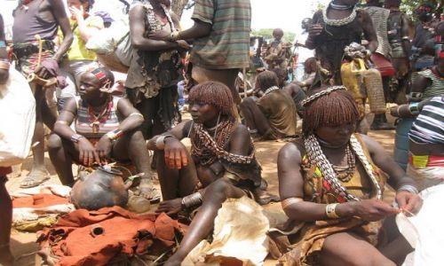 Zdjęcie ETIOPIA / Omo Valley / Dimeka / Hamer People