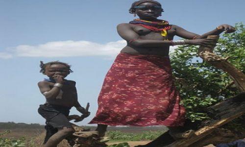 Zdjecie ETIOPIA / - / Omorate / Geleb/Dassaneth People