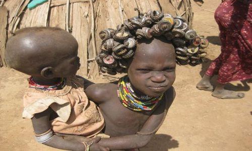 Zdjęcie ETIOPIA / Omo Valley / Omorate / Geleb/Dassaneth People