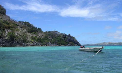 Zdjecie FIDŻI / Yasawa / Nanuya Lai Lai / Łódka