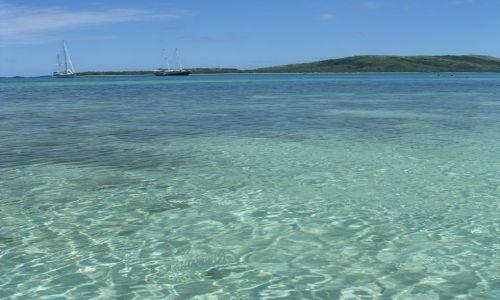Zdjęcie FIDŻI / Yasawa / Błękitna Laguna, Nanuya Lai Lai / Krystalicznie czysta woda