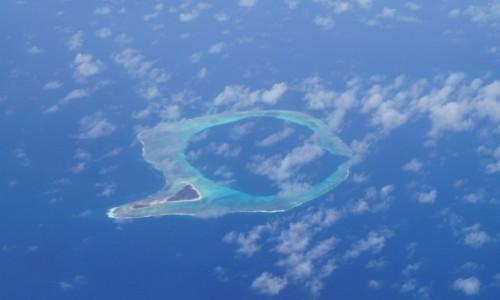 Zdjecie FIDŻI / Ocean Spokojny / w drodze na Fidżi / Atol
