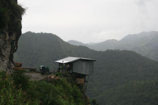 Zdjęcia: okolice Batad, Banaue, Domek na zakręcie, FILIPINY