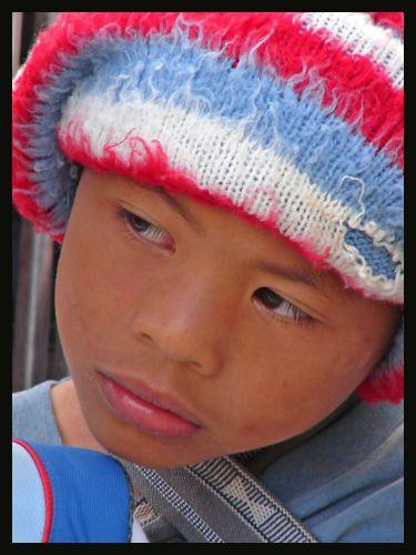 Zdjęcia: Banaue, wyspa Luzon , mały filipińczyk , FILIPINY