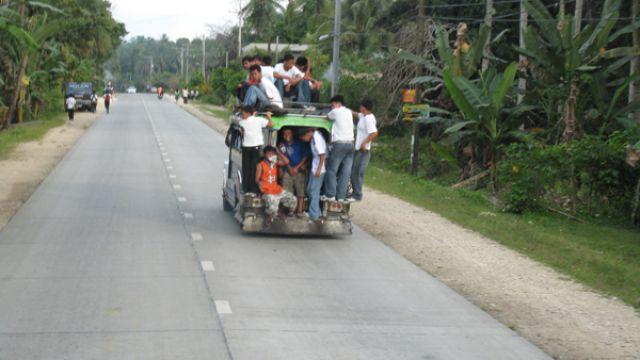 Zdjęcia: Bohol, Bohol, Filipinski tranport, FILIPINY