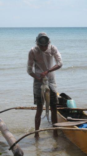 Zdjęcia: Wioska rybacka, Palawan, Ojciec i maz, FILIPINY