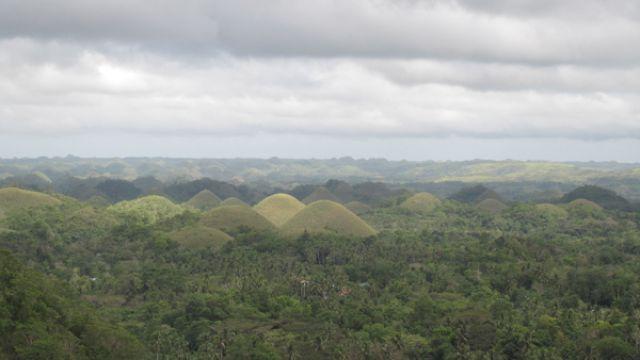Zdj�cia: Czekoladowe wzgorza, Bohol, Czekoladowe wzgorza, FILIPINY