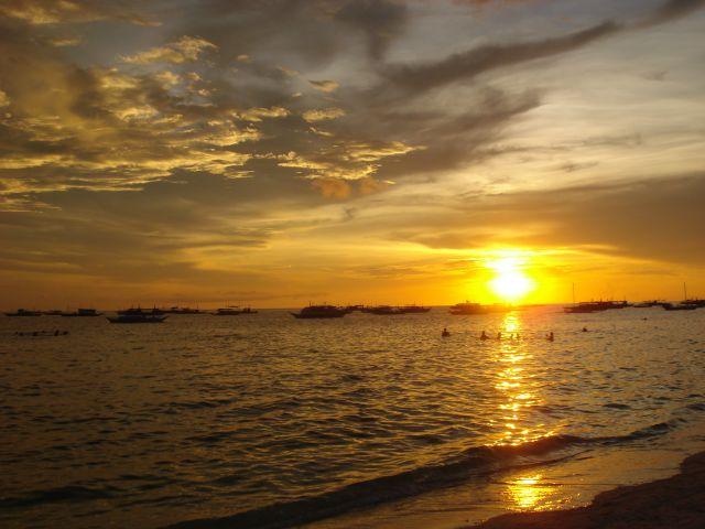 Zdjęcia: Boracay, Azja, Zachod Slonca, FILIPINY