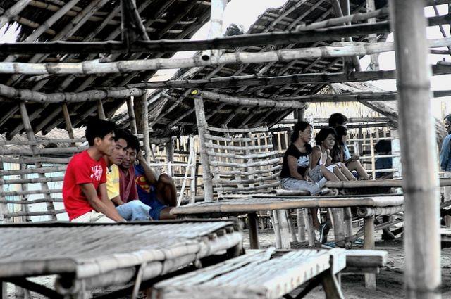 Zdjęcia: Agoo, Płn. Luzon, Na plazy w San Julian, FILIPINY