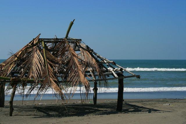Zdjęcia: Agoo, Płn. Luzon, Plaża w San Miguel, FILIPINY