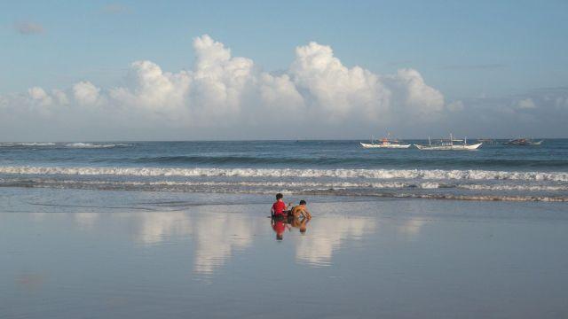 Zdjęcia: Sabang i okolice, Palawan, ... para ..., FILIPINY