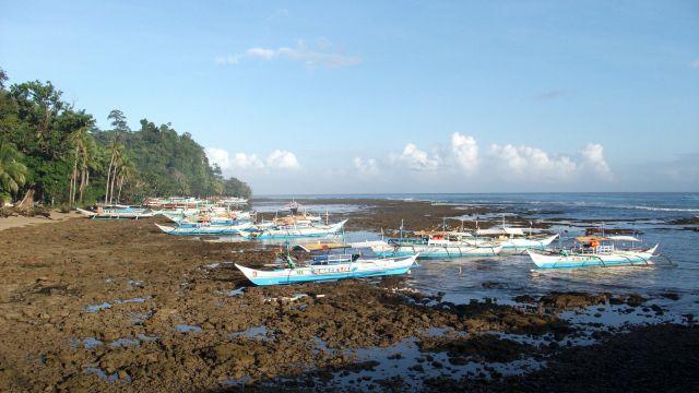 Zdjęcia: Sabang i okolice, Palawan, ... odpływ ..., FILIPINY