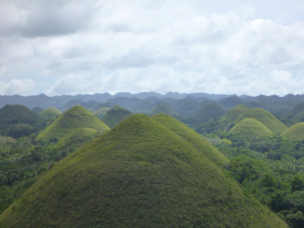Zdjęcia: Chocolate Hills, Bohol, Chocolate Hills, FILIPINY
