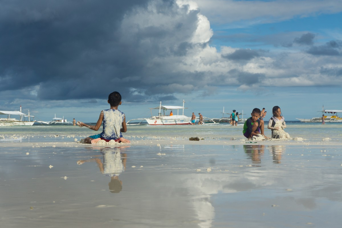 Zdjęcia: Dumuluan Beach, Panglao, beztroska, FILIPINY