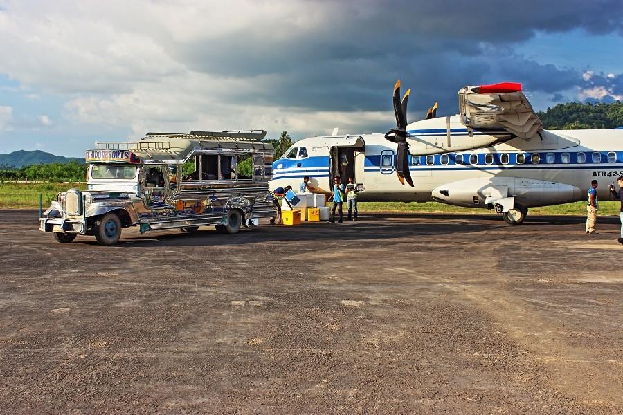 Zdjęcia: El Nido, Palawan, Lotnisko w El Nido, FILIPINY