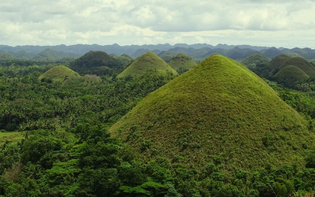 Zdjęcia: Chocolate Hills, wyspa Bohol, Czekoladowe Wzgórza, FILIPINY