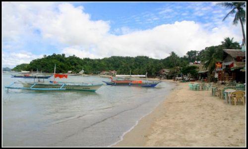 FILIPINY / Palawan / El Nido / Plaża w El Nido