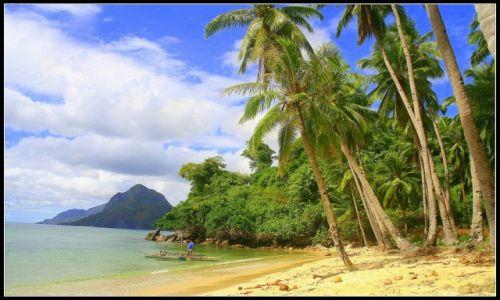 Zdjecie FILIPINY / Palawan / El Nido, Corong Corong / Plaża w okolicy