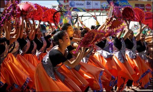 Zdjęcie FILIPINY / Panay / Iloilo / Feria barw na Dinagyang 3