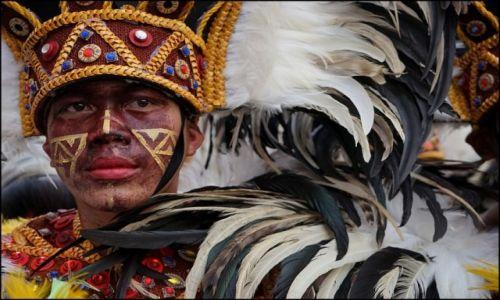 Zdjecie FILIPINY / Panay / Iloilo / Feria barw na Dinagyang 5