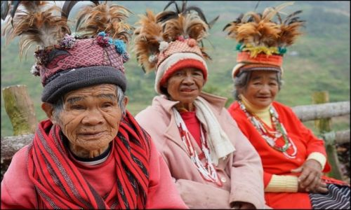 FILIPINY / Luzon / Banaue / Ludzie Ifugao