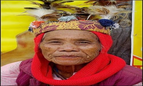 Zdjecie FILIPINY / Luzon / Banaue / Ludzie Ifugao 3