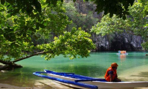 Zdjecie FILIPINY / Palawan / Underground river / Podziemna rzeka