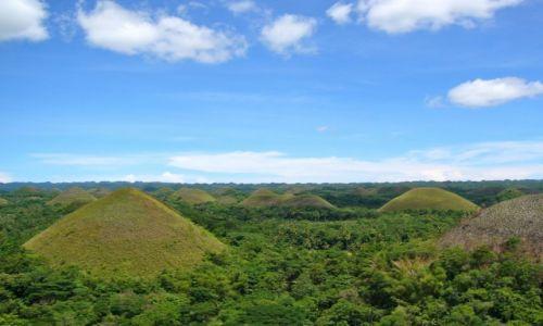 Zdjecie FILIPINY / CHOCOLATE HILLS  / PANGLAO BOHOL / PANGLAO BOHOL NOWA DESTYNACJA