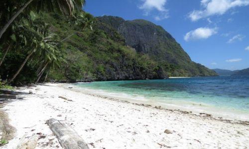 Zdjęcie FILIPINY / Palawan / El Nido / Na bezludnej wyspie, czyli kajakiem po morzu