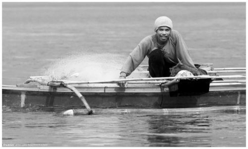 Zdjęcie FILIPINY / Busuanga / Ocamocam / Fisherman