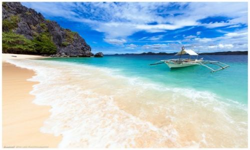 Zdjęcie FILIPINY / Busuanga / Malajon Island / Black Island Beach