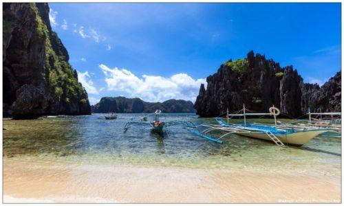 Zdjecie FILIPINY / Palawan / Bacuit Archipelago / Secret Beach