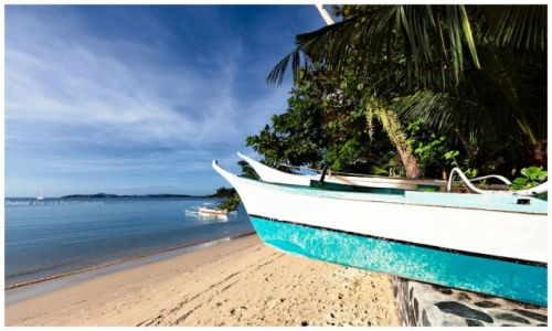 FILIPINY / Palawan / Port Barton / Morning