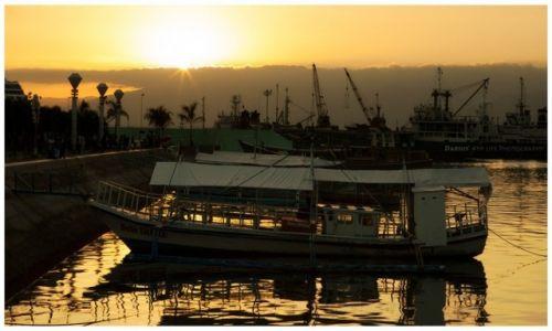 FILIPINY / Palawan / Puerto Princesa / Peaceful evening at the Bay