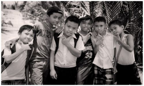Zdjęcie FILIPINY / Negros / Dumaguete / Keep cool - keep smiling
