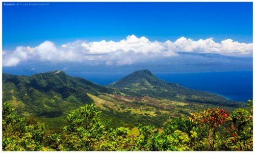 Zdjęcie FILIPINY / Mindanao / Camiguin / Camiguin: View at Mindanao