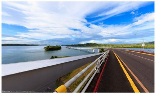 Zdjęcie FILIPINY / Leyte  / San Juanico Bridge / The Bridge
