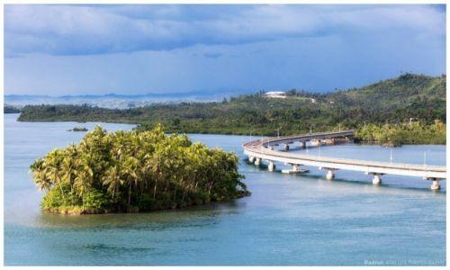 Zdjęcie FILIPINY / Leyte  / San Juanico Bridge / San Juanico Bridge