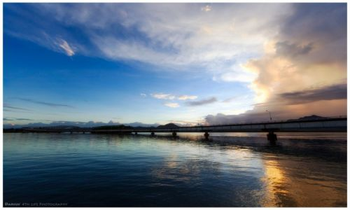 Zdjęcie FILIPINY / Leyte  / San Juanico Bridge / Highway to the Light