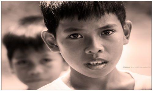 FILIPINY / Palawan / Bacuit Archipelago / Palaawan Boy