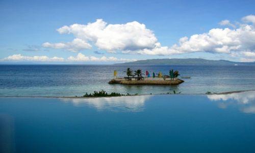 Zdjęcie FILIPINY / Bohol / Panglao / Widok na Cebu