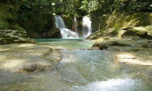 Zdjecie FILIPINY / Bohol / LOBOC RIVER / Wodospad Mag-Aso