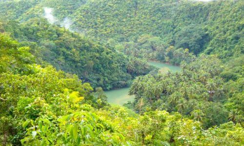 Zdjecie FILIPINY / BOHOL / Loboc / Loboc River (tutaj krecono film