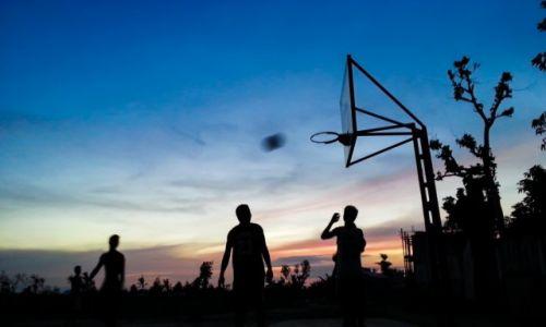 Zdjęcie FILIPINY / Bantayan / Marikaban / Baketball match