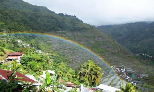 FILIPINY / Panay / Batad / Na chwilę przestało padać