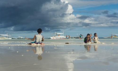 Zdjecie FILIPINY / Panglao / Dumuluan Beach / beztroska