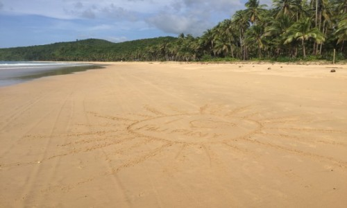 Zdjecie FILIPINY / El Nido / Nacpan beach  / Kraj w którym liczy się być a nie mieć :)