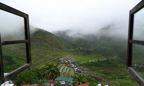 FILIPINY / Północny Luzon /  Batad / Wstajesz i... jest pięknie