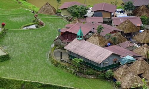 FILIPINY / Północny Luzon / Bangaan / Wioseczka Bangaan