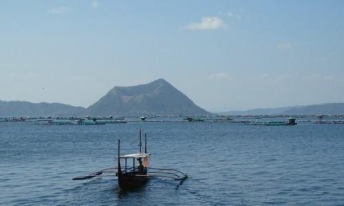 Zdjęcie FILIPINY / wyspa Luzon / Jezioro Taal / Wulkan Taal